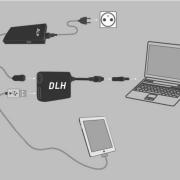 ADAPTATEUR DE CHARGE USB.