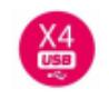 x4 USB