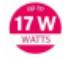 17 watts